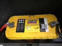 Optima Yellow Top Battery (x2)