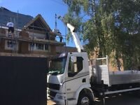 hiab hire transport hot tub delivery