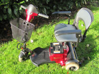 Compact Mobility Scooter - Free Delivery - Excellent Condition - Warranty