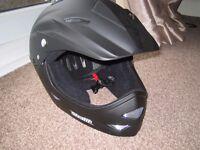 full face helmet unused