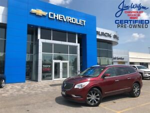 2017 Buick Enclave Premium AWD LOADED HOT/COLD SEATS 20 WHEELS!!