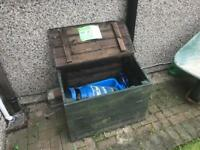 Garden Storage - Wooden Box • Cat Box