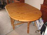 ANTIQUE PINE DINING TABLE FOR SALE