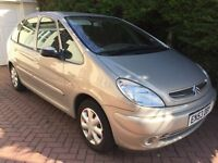 Citroen Picasso 1.6 One Owner with Full Service History including Cambelt Change. 2003 78000 miles