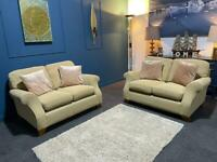 Marks & Spencer's oatmeal suite 2 x 2 seater sofas
