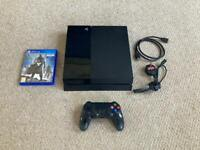 SONY PS4 500GB - GOOD CONDITION - CONTROLLER & GAME & CABLES