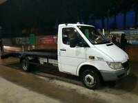 sprinter twin wheeler recovery truck rare find