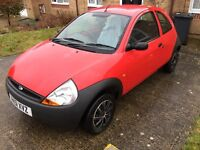 Ford KA cheap first starter car