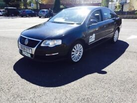 Vw Passat highline 2008 2.0 tdi auto dsg full leather alloys rossendale taxi or normal car offers