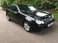 2001 P/PLATE MERCEDES C220 CDI COUPE 6 SPEED MANUAL