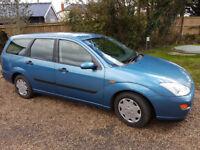 Ford Focus petrol estate, MOT to Sep, spares/repairs