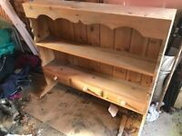 Beautiful solid pine dresser top