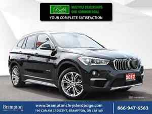 2017 BMW X1 XDrive28i|PROXIMITY KEY|PANORAMIC|LEATHER|HEATED S