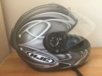 HJC motorbike helmet.