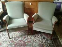 A pair of quality parker knoll chairs