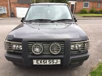2001 Land Rover Range Rover Vogue. 4.6L Petrol Black BREAKING FOR SPARES