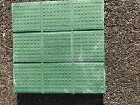 Plastic Slabs x 30 380mm x380mm