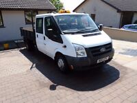 Transit tipper excellent runner, box rebuilt about a year ago, mot until 27th March 2018