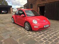 2003 volkswagen vw beetle 1.8t turbo 20v 230bhp bbs coilovers full mot
