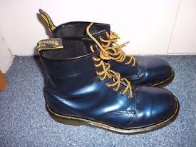 Size 10 - Blue, 1460 Doc Martens