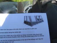 caravan / campervan air awning vango