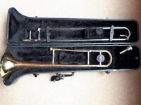 Jupiter trombone. Used for Intermediate and Higher music and playing in school bands