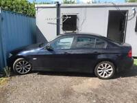 BMW 320D 2008 DIESEL MANUAL LEATHER TRIM sold as NON RUNNER LONG MOT FULLY LOADED