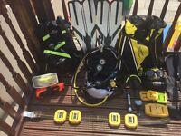 Diving equitment , scuba diving
