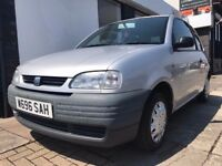 Seat Arosa 1.0 3dr PARTS & LABOUR WARRANTY