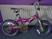 Girls bike 16in wheels, pink