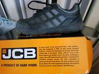 Jcb safety trainers size 9