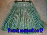 Stunning French connection skirt size 12