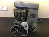 Kenwood Chef Major Classic Mixer KM800 in Silver Including accessories