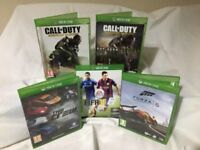 Set of 5 Xbox one games