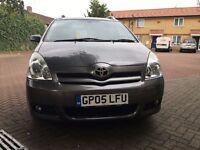 Toyota COROLLA VERSO SPRIT AUTO - REAR SCREENS, T SPRIT TOP OF THE RANGE