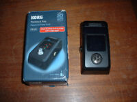 Korg Pitchblack Polyphonic tuner pedal for guitar and bass