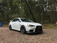 Evo X GSR FQ300 MANUAL. Forged. 42k 380+