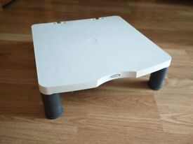 Old style monitor stand.