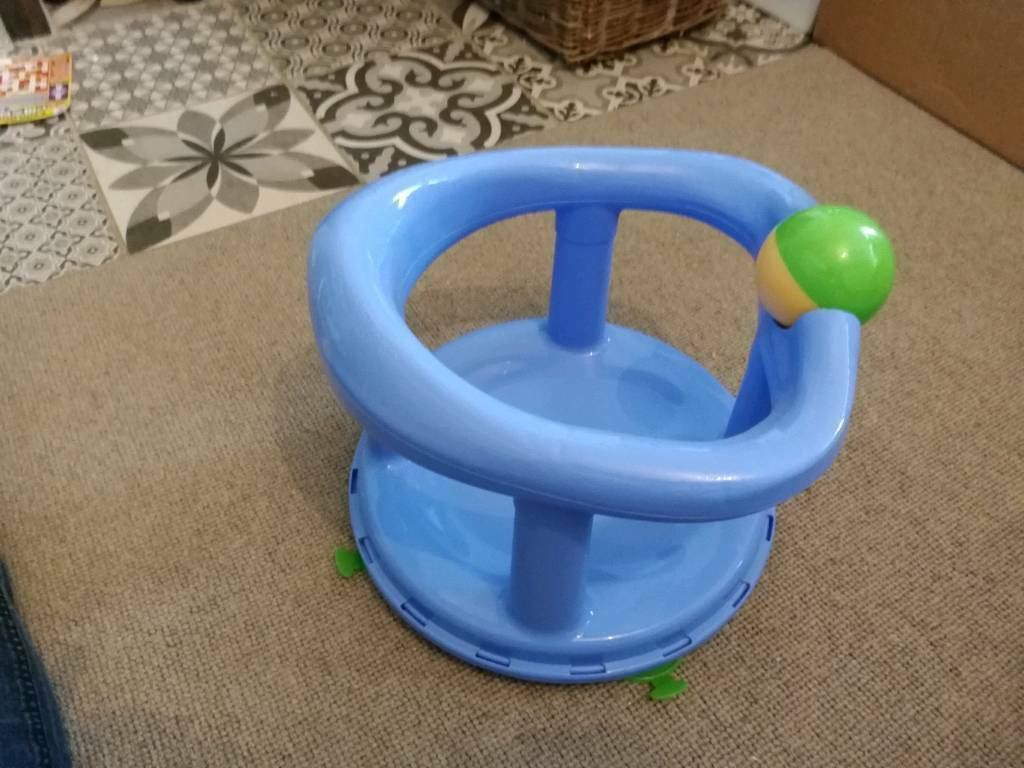 Swivelling baby bath seat with suction cups | in Exeter, Devon | Gumtree