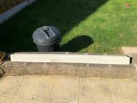Concrete fence post 1 available