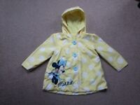 Mini Mouse girls jacket 12-18 months
