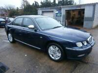 ** NEWTON CARS ** 03 ROVER 75 2.0 CDTI CONNOISSEUR AUTO SALOON, BMW ENGINE, ATI, MOT JUN 2018, CALL