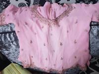 Baby pink Indian lengha