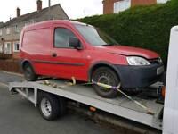 Vauxhall combo 1.3 cdti breaking