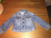 Baby Gap Denim Jacket age 2 girls