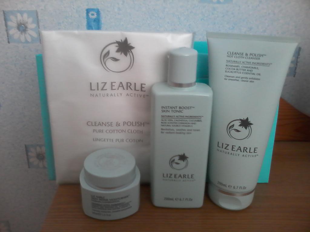 Liz Earle Naturally Active Organic Skincare