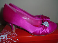 Occasion shoes, pink, size 5