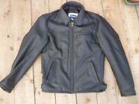 Triumph Leather Motorcycle Jacket size 38 unused