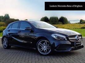 Mercedes-Benz A Class A 180 AMG LINE PREMIUM (black) 2016-12-13