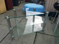 Small Glass TV stand